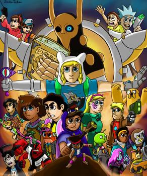 Cartoon avengers infinity wars