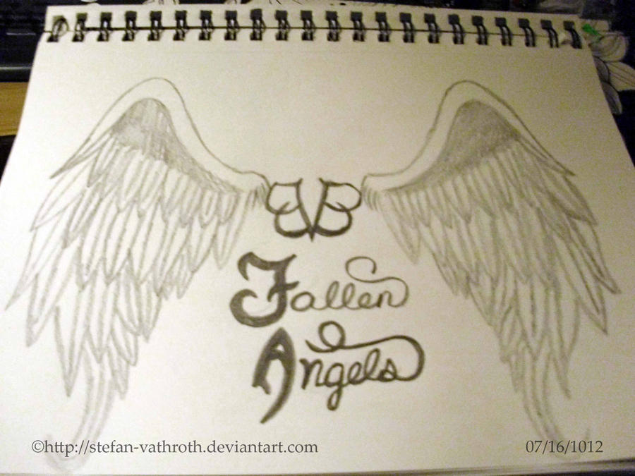 BVB Fallen Angels Hand Drawn View 1 By Gothic Rebel