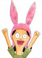 Louise Belcher by DeadWoodPete83