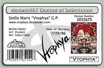 deviantLICENSE-vtophya- by vtophya