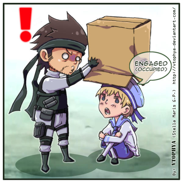 APH+METAL GEAR SOLID-Box- by vtophya