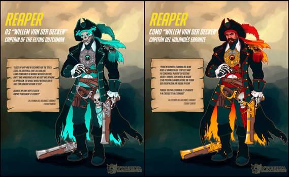 Overwatch - 'Willem van der Decken' Reaper