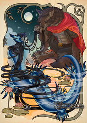 Overwatch - The werewolf and the merman