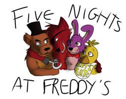 Five Nights at Freddy's by AnimalEmotionStudios