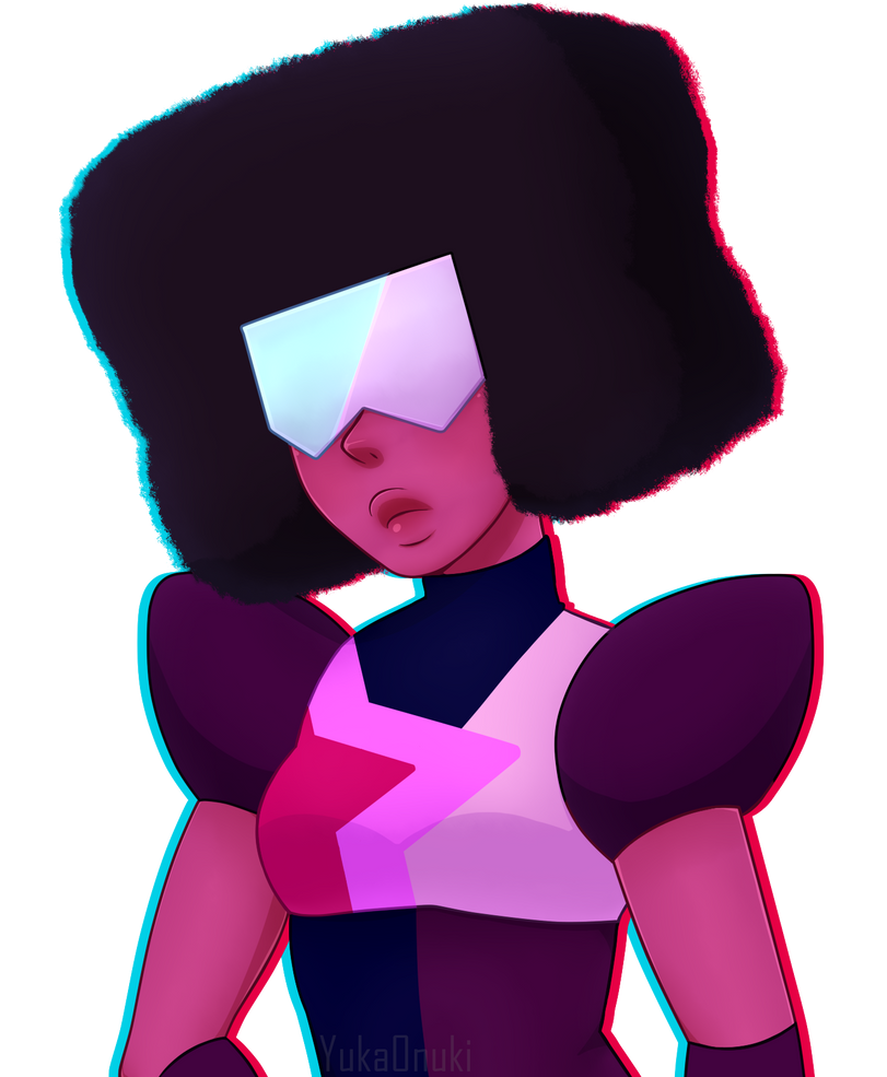 Got a new tablet yesterday and did Garnet for the test! >> Speedpaint << youtu.be/-7PCIMLB5so Art (c) Garnet (c) Steven Universe / Rebecca Sugar