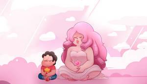 Rose and Steven [ SCREENSHOT REDRAW + SPEEDPAINT ]