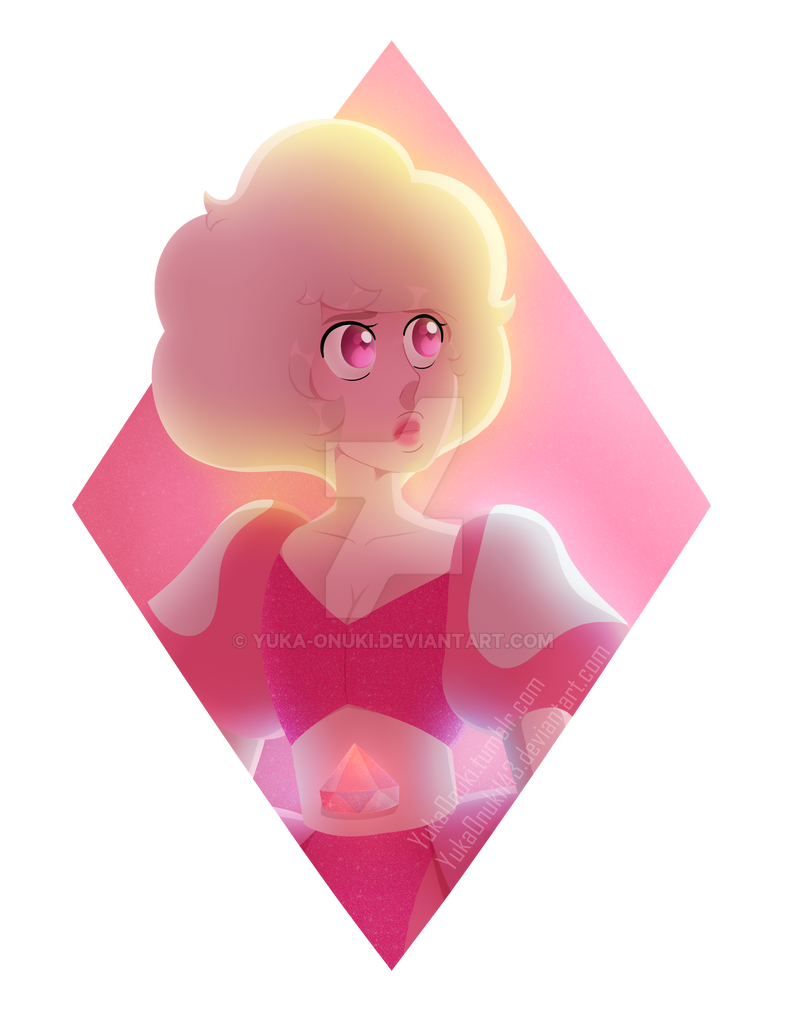 A simple doodle of Pink Diamond for you guys Art (c) Character (c) Rebecca Sugar/Steven Universe