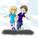 With my boyfriend by Seiryu6