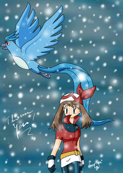 Thank you - May and Articuno
