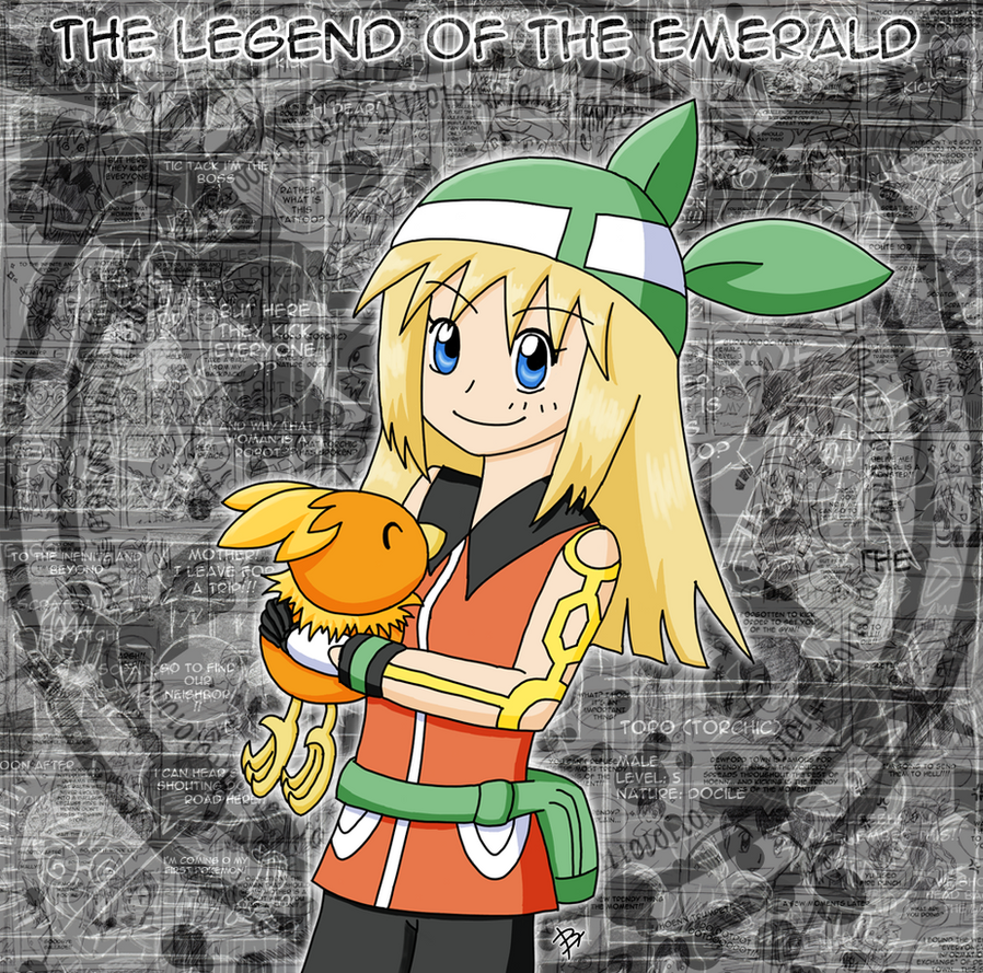 The Legend of the Emerald - Nuzlocke - Cover by Seiryu6