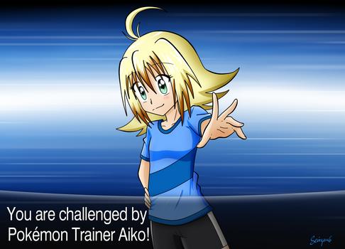 VS Pokemon Trainer Aiko