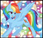 (Fanart) 20% Cooler Rainbow Dash