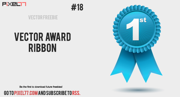 Vector award ribbon by pixel77-freebies