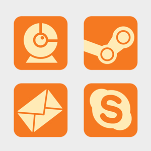 Free Vector of the Day #107: Desktop Icons (Part 1 by pixel77-freebies