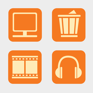 Free Vector of the Day #108: Desktop Icons (Part 2 by pixel77-freebies