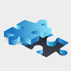 Free Vector of the Day #136: Jigsaw Puzzle Pieces by pixel77-freebies