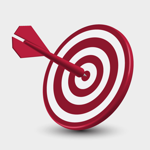 Free Vector of the Day #137: Dart Target by pixel77-freebies