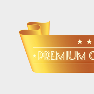 Free Vector of the Day #139: Golden Ribbon by pixel77-freebies