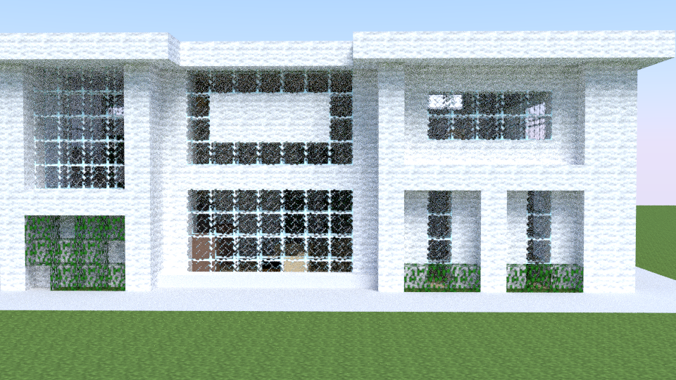 Modern house mc render by nakudan on deviantart for Modern house mc