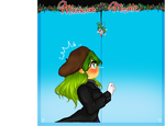 Mistletoe Meme Sophia