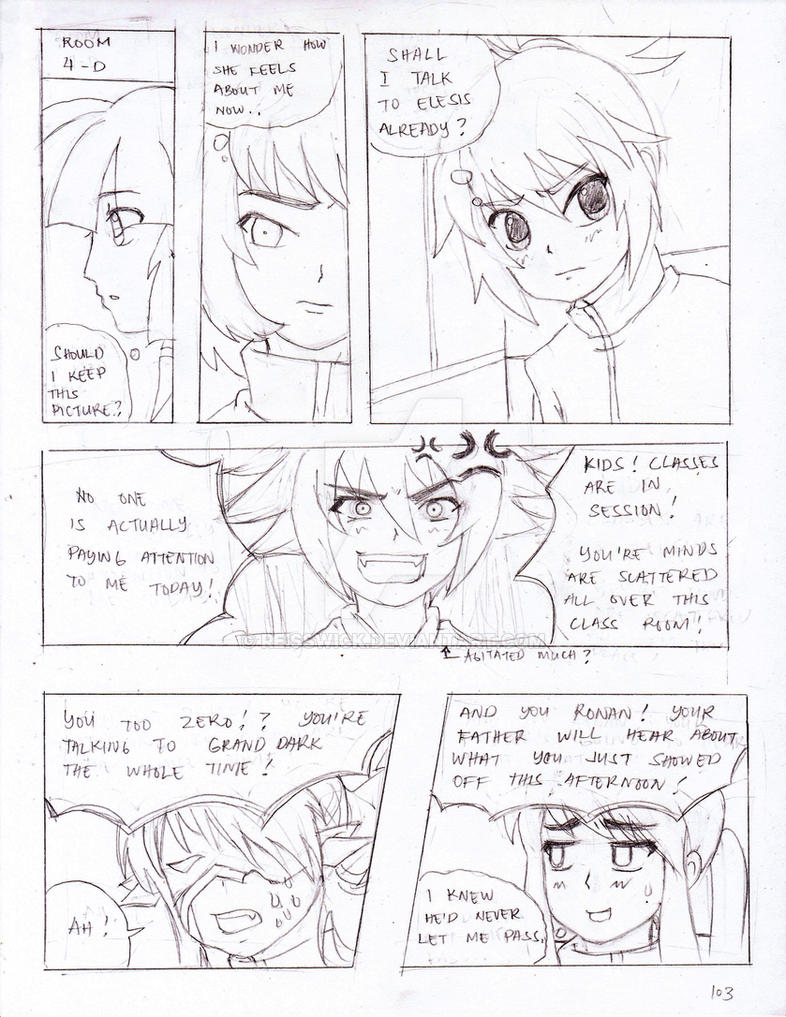 GrandChase: Unrequited Love Pg 102 by reisswick