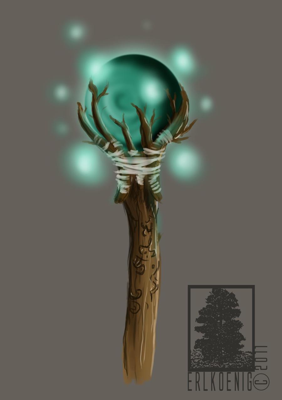 Staves Images On: Wizard Staff By Erlkoenig On DeviantArt