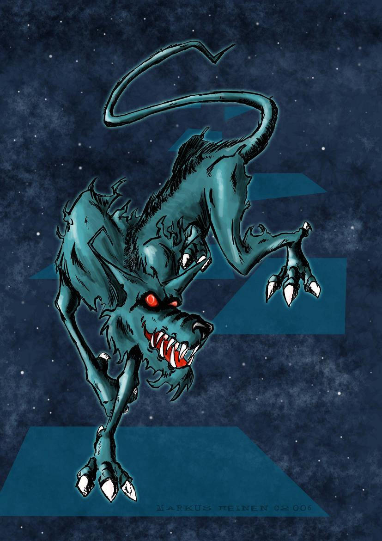 Los Dioses de Lovecraft  y sus criaturas Hound_of_Tindalos_by_erlkoenig