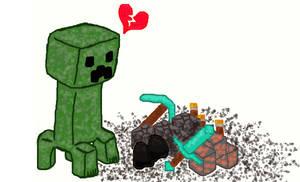Creeper Heartbreak by CharmandersFlame