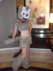 Minecraft Tamed Wolf Cosplay by CharmandersFlame