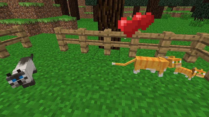 Ocelots Minecraft My first tamed ocelots by