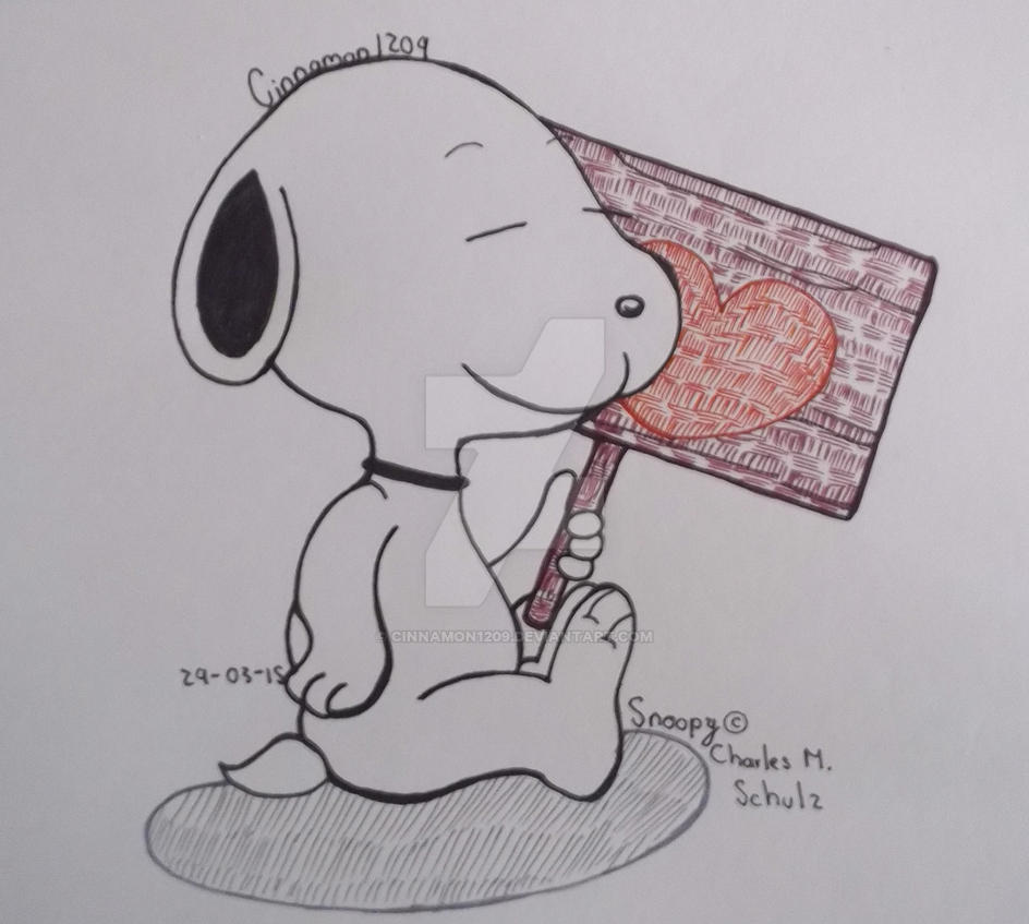 .:Doodle:. Snoopy by Cinnamon1209 on DeviantArt
