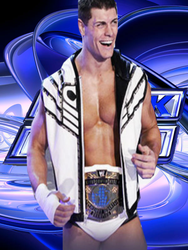 Cody Rhodes IC Champion by Omega6190 on DeviantArt