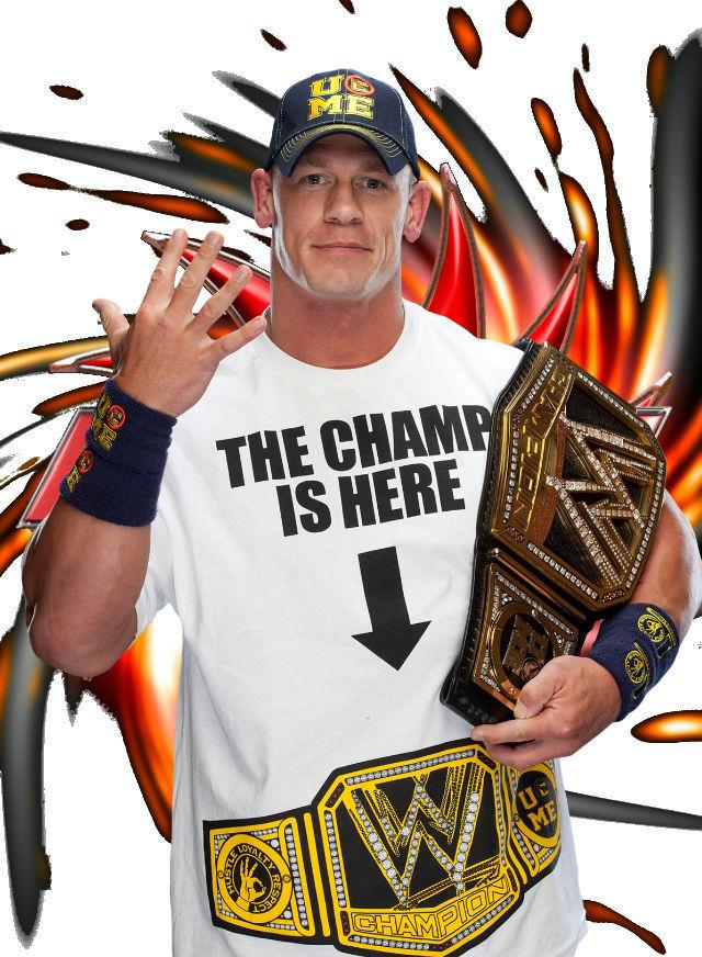 John Cena WWE Champion by Omega6190 on DeviantArt  John Cena WWE C...