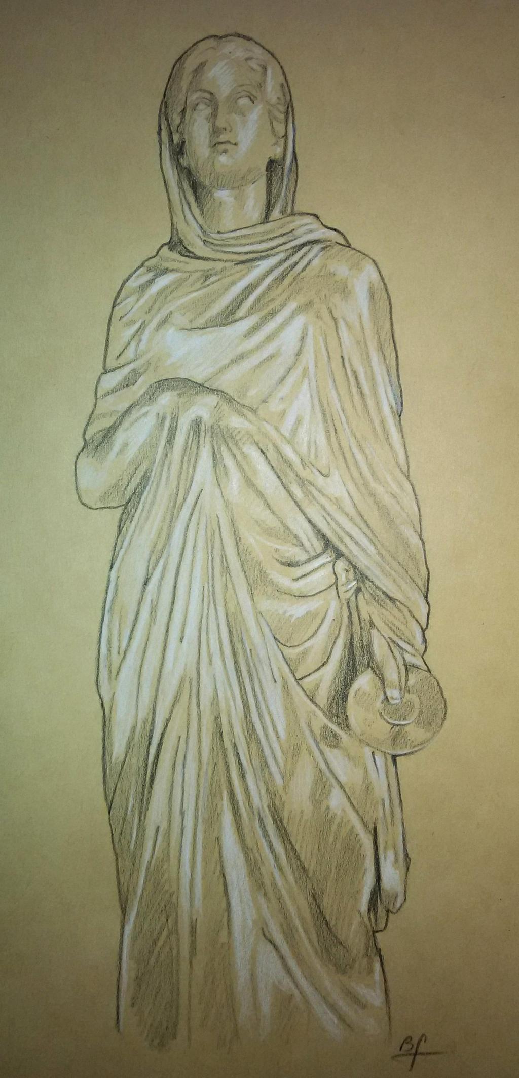 Uffizi-Drapery