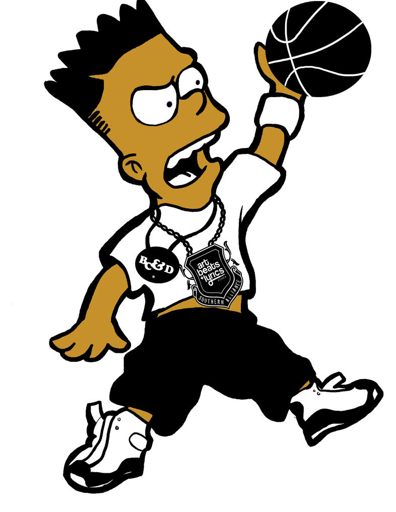 Black bart simpson swag