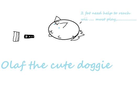 Oalf the cute doggie