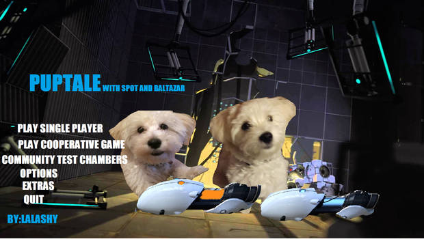 Puptale with Spot and Baltazar
