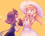 Acerola and Lillie