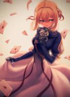 Violet Evergarden by makaroll410