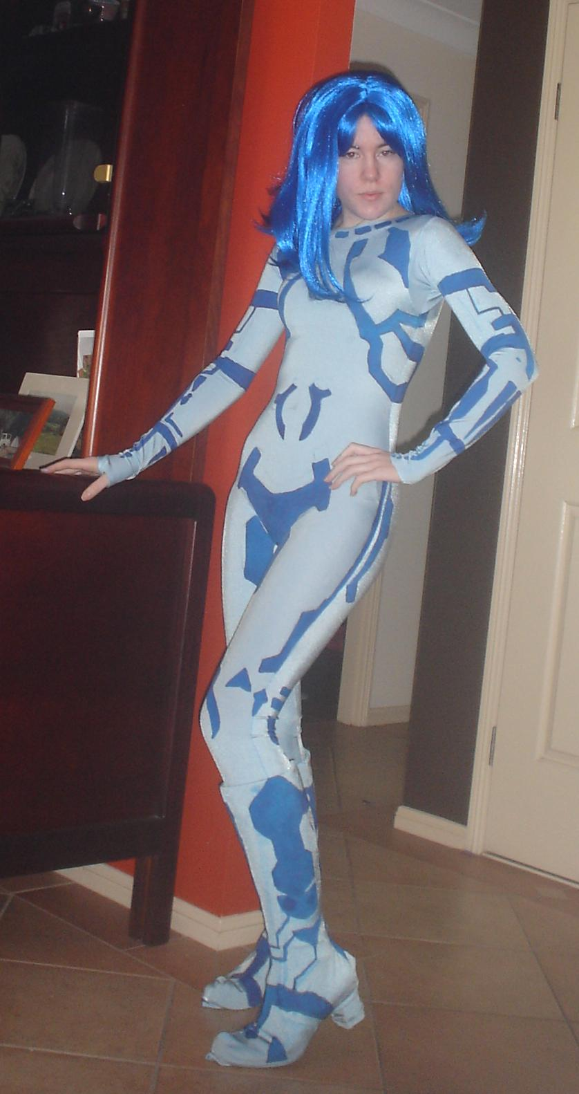Cortana cosplay 3 - Halo 3 by Sailor-Destiny