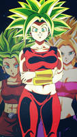 Kale y Caulifla, Kefla EDIT by KarlaValdivia30