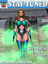 Weather Girl cover 3 by finister