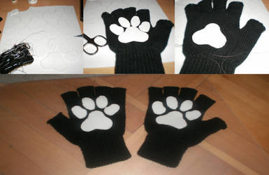 Paws sewed