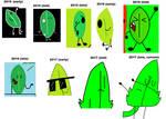 evolution of my art : leafy