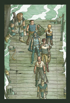 Comics for Liquid City vol1
