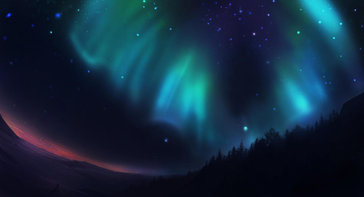 Auroras by SkyrisDesign