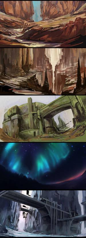 [Week 2] Art Camp - Imaginary Sketches