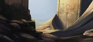 The Fallen Empire by SkyrisDesign