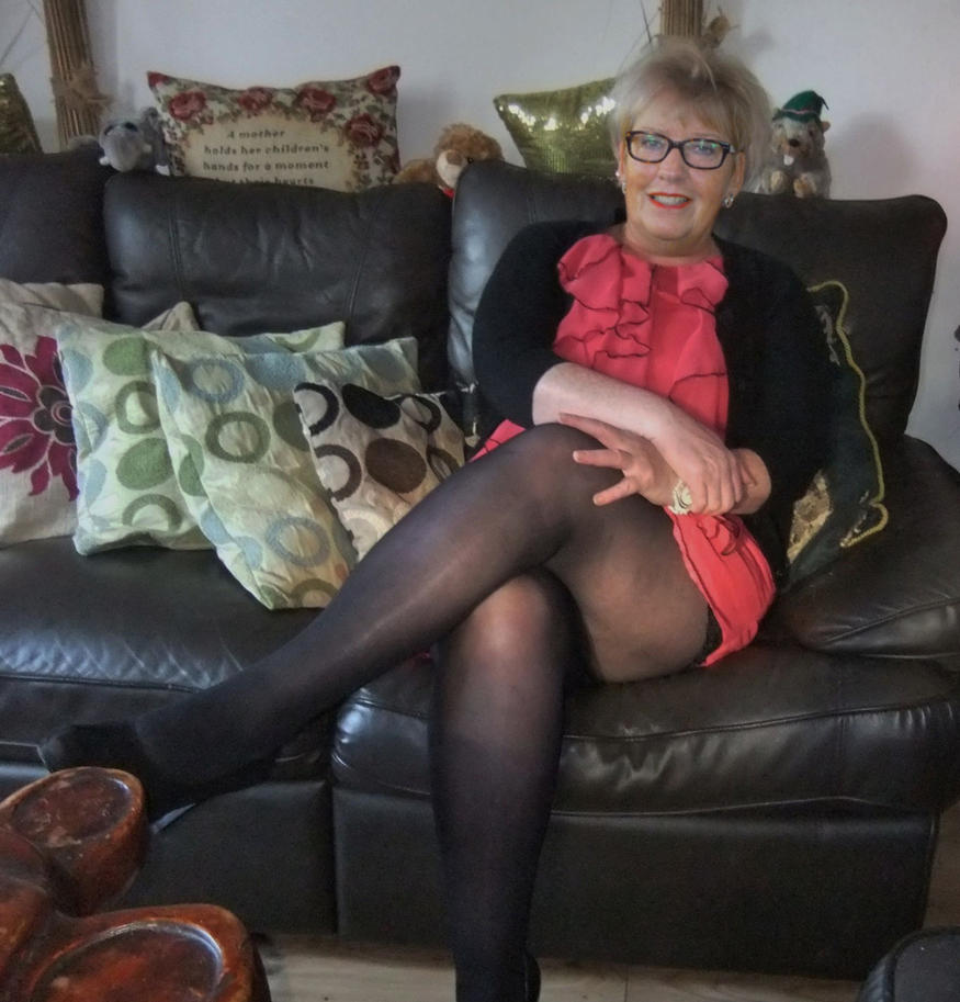 Grandma In Pantyhose 57