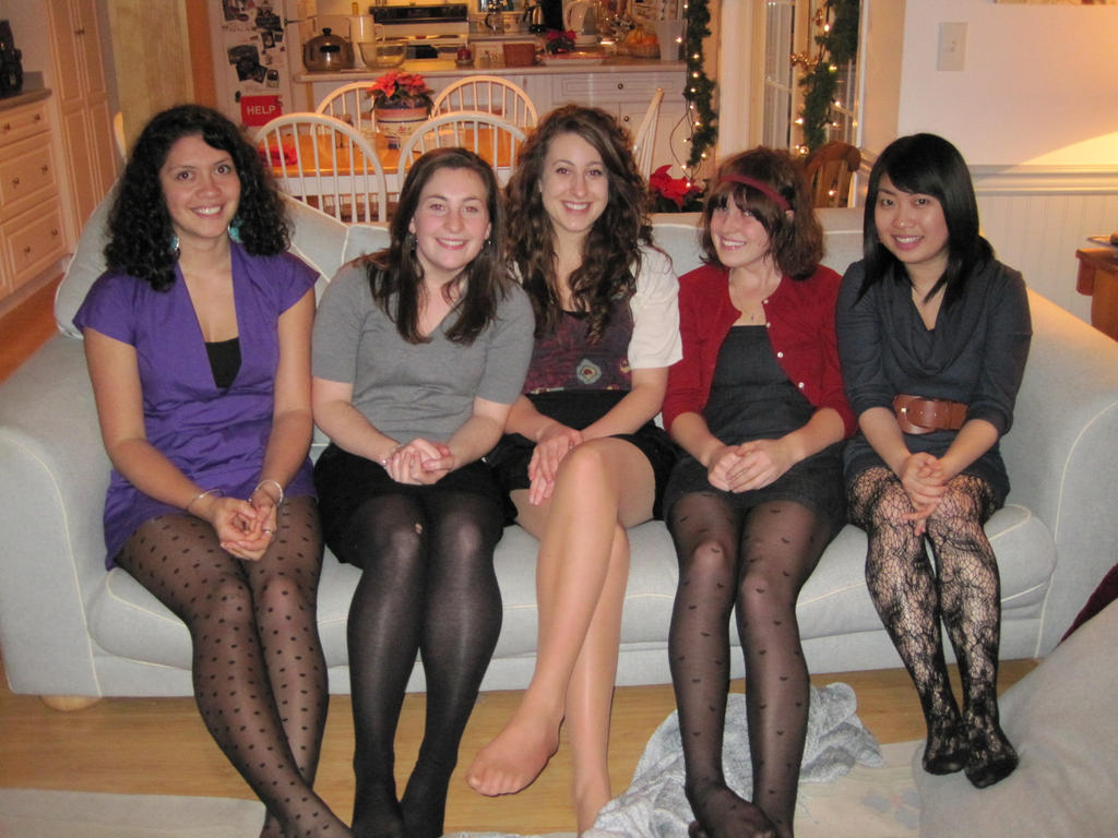candid pantyhose photo